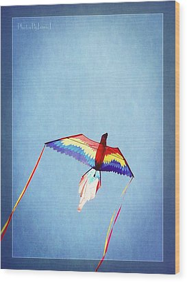 Fly Free Wood Print by Jamie Johnson