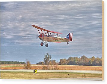 Flying Circus Barnstormers Wood Print