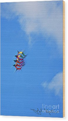 Flying High II  Wood Print by Art Mantia