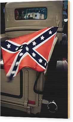 Flying The Flag Wood Print by Phil 'motography' Clark