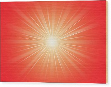 Focus For Meditation 2 Wood Print by Philip Ralley