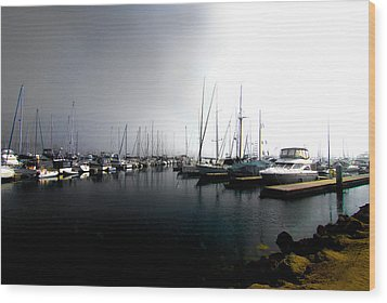 Wood Print featuring the photograph Fog Bank by Joseph Hollingsworth