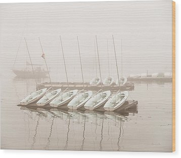 Fogged In Again Wood Print by Bob Orsillo