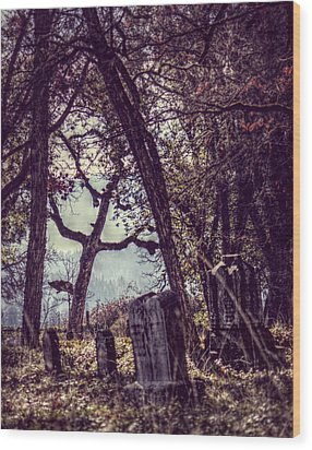 Wood Print featuring the photograph Foggy Memories by Melanie Lankford Photography