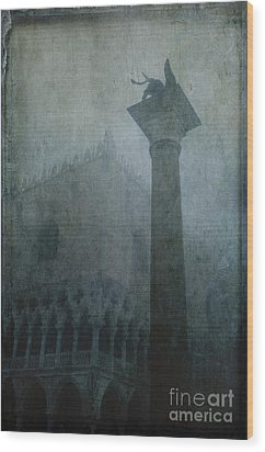 Foggy Morning Wood Print by Marion Galt