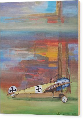 Fokker Ready Wood Print