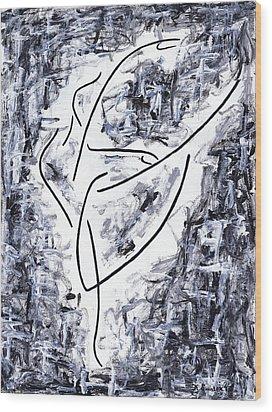 Following Her Passion Wood Print by Kamil Swiatek