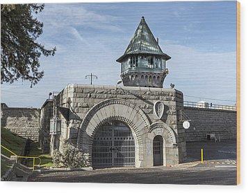 Folsom Prison In Folsom Wood Print by Carol M Highsmith