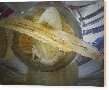 Food As Art Wood Print