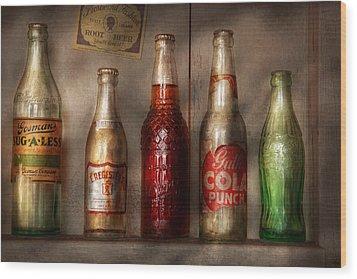 Food - Beverage - Favorite Soda Wood Print by Mike Savad