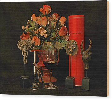 For A Special Occasion Wood Print by John Stuart Webbstock