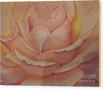 For My Love Wood Print by Bernie Bishop