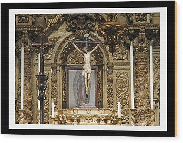 For Our Sins Wood Print by Shoal Hollingsworth