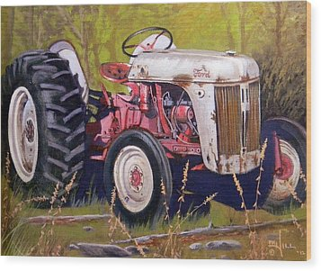 Ford 8n Wood Print