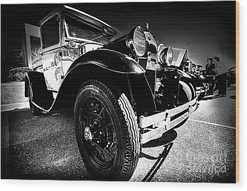 Ford Antique Cars Wood Print