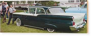 Ford Classic Automobile Wood Print