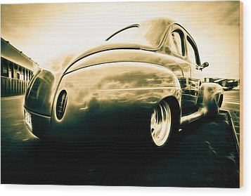 Ford Clubman Wood Print by Phil 'motography' Clark