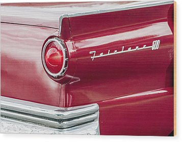 Wood Print featuring the photograph Ford Fairlane by Dawn Romine