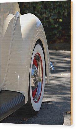 Ford Fender Wood Print