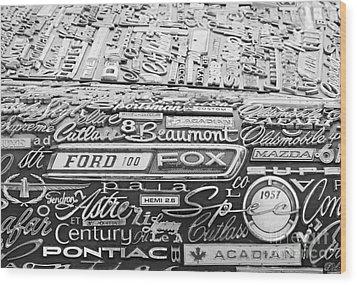 Ford Fox Wood Print
