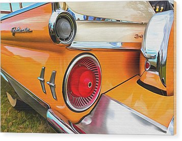 Ford Galaxie Skyliner 9 Wood Print