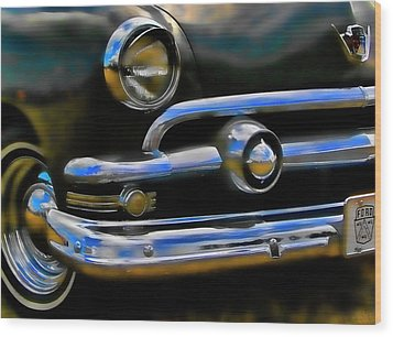 Ford Hot Rod Wood Print by Ron Roberts