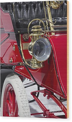 Wood Print featuring the photograph Ford Model A by Jim West