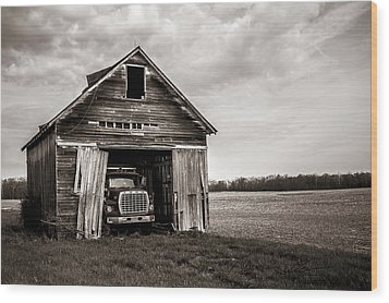 Ford Wood Print by Off The Beaten Path Photography - Andrew Alexander