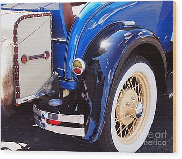 Ford Roadster Wood Print
