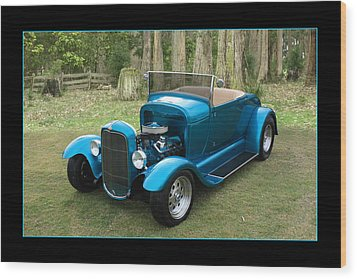 Wood Print featuring the photograph Ford Roadster by Keith Hawley