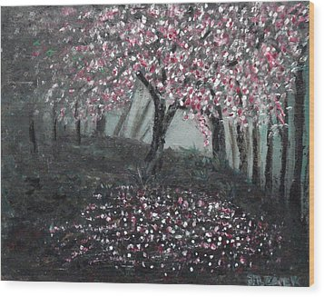 Forest Beauty Two Wood Print