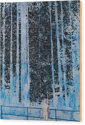 Forest Four Hours Of Daylight Wood Print by Graham Dean