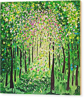 Forest Gifts Wood Print