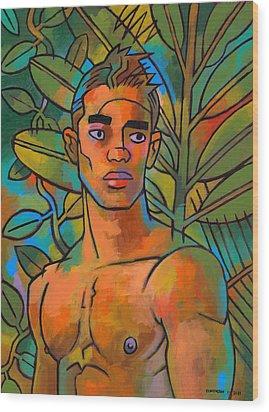 Forest Spirit 2 Wood Print by Douglas Simonson