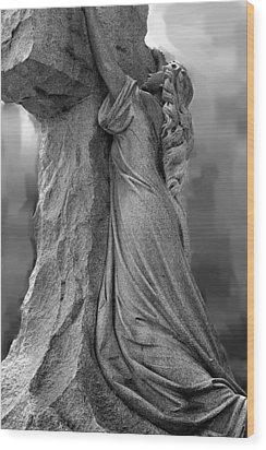 Forgiven Wood Print by Randy Pollard