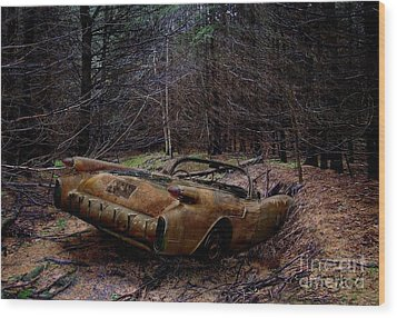 Forgotten 54 Wood Print by Tom Straub