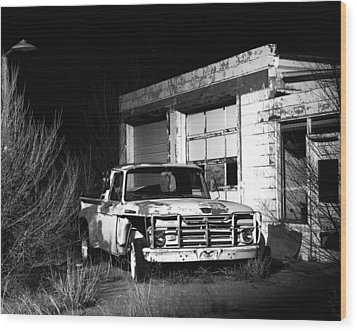 Wood Print featuring the photograph Forgotten Ford by Christopher McKenzie