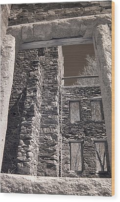Forgotten Wood Print by Joann Vitali