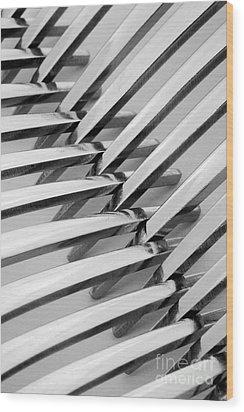 Forks I Wood Print by Natalie Kinnear