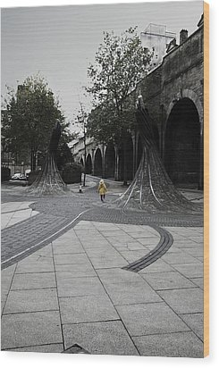 Forster Square Wood Print by Riley Handforth