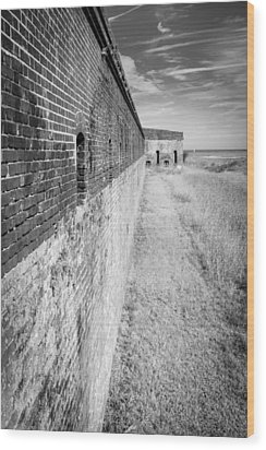 Wood Print featuring the photograph Fort Clinch II by Wade Brooks
