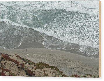 Fort Funston Beach Wood Print