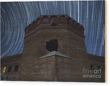 Wood Print featuring the photograph Fort Jefferson Nights by Keith Kapple