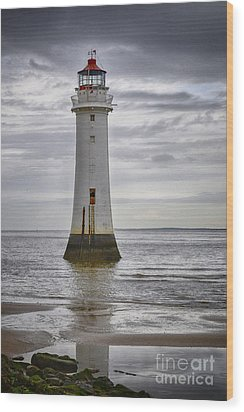 Fort Perch Lighthouse Wood Print