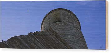 Fort Tower 1 Wood Print by Chris Thomas