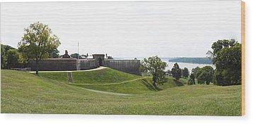 Fort Washington Park - 12124 Wood Print by DC Photographer