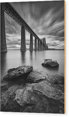 Forth Bridge Wood Print