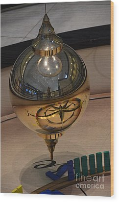 Wood Print featuring the photograph Foucalt's Pendulum by Robert Meanor