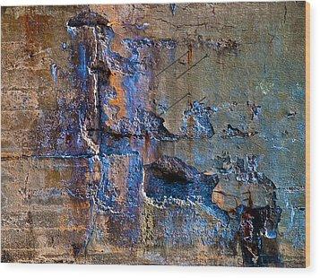 Foundation Seven Wood Print by Bob Orsillo
