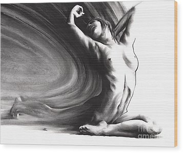 Fount Iv Wood Print
